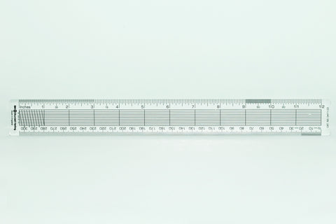 "Blundell Harling 12""/30cm Ruler"