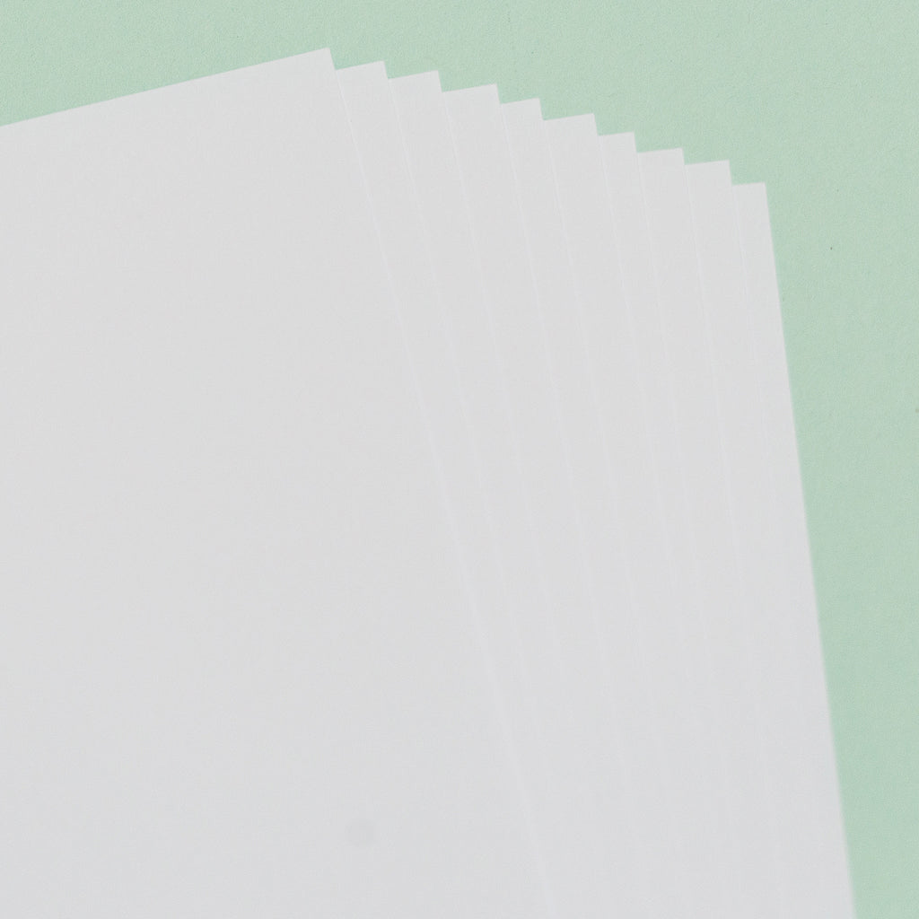 PenmanDirect Smooth White Card