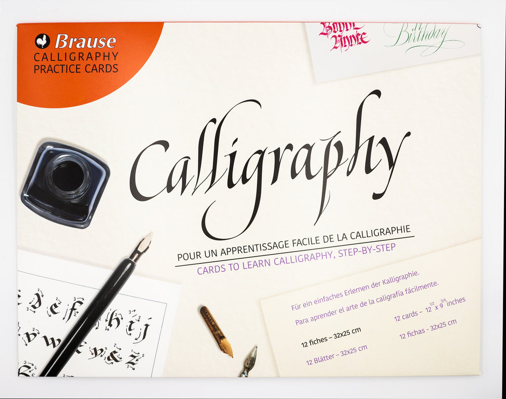 Brause Calligraphy Practice Cards