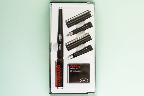 Rotring Calligraphy Art Pen Set
