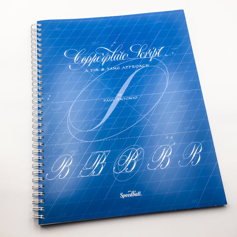 Copperplate Script - A Yin and Yang Approach by Paul Antonio