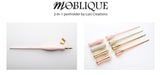 Moblique 2-in-1 Penholder by Luis Creations