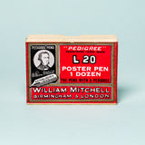William Mitchell Poster Pen - steel
