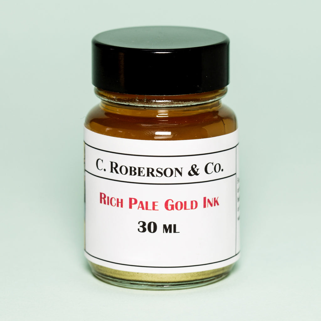 Roberson's Rich Pale Gold Ink