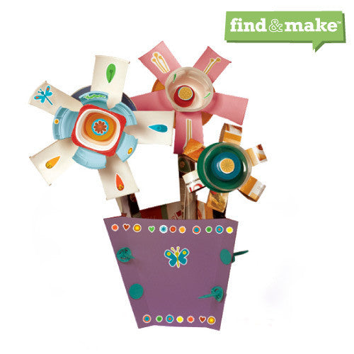 Find & Make Flowers - Edunique