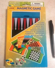 Backgammon Magnetic (12/Pack) - Edunique