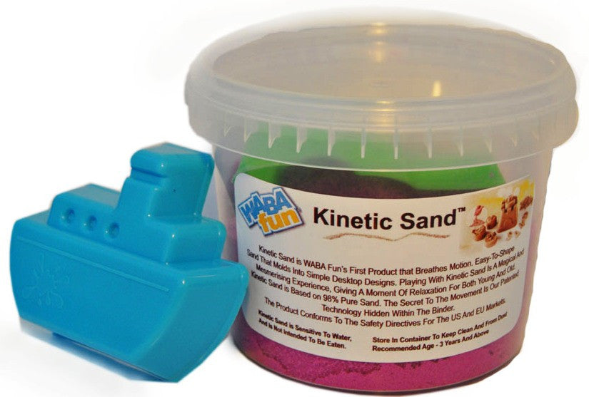 Kinetic Sand 800g Tub Pink With Mould