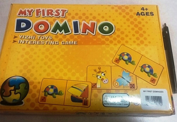 Domino My First (12/Pack) - Edunique