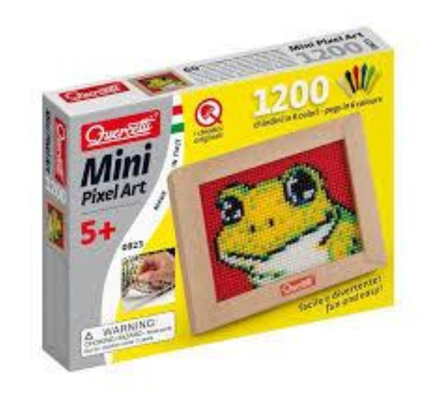 Pixel Art Mini Frog - Edunique  - 1