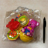 Rattle Gift Set pvc (3pc 3Ass) - Edunique
