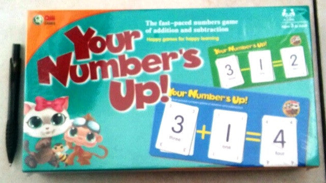 Your Numbers up Game - 6/pack - Edunique