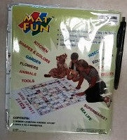 Playmat Learning Words 12/pack - Edunique
