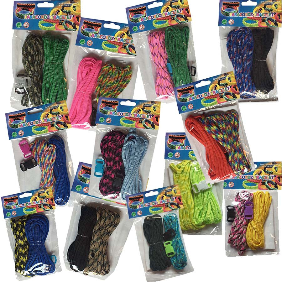 Paracord Two Piece 12 assorted