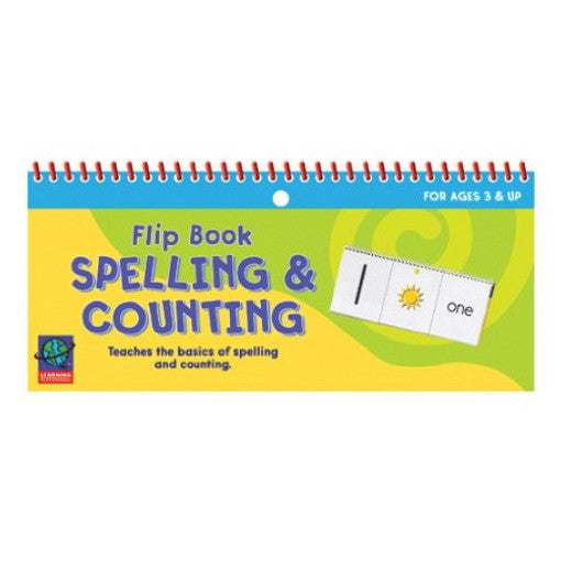 Flip Book Spelling & Counting