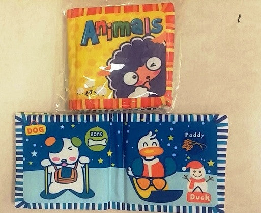 Squeeker Animal Book (12/Pack)