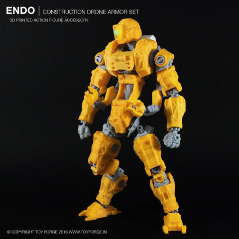 Endo Costruction Drone Armor Kit (Digital Files) - Toy Forge