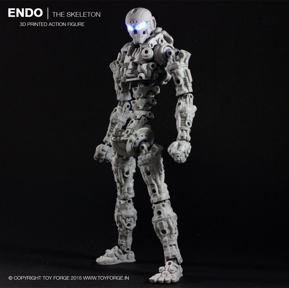 Endo The Skeleton 3D Printed Action Figure (Digital Files