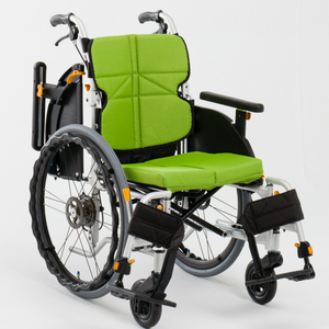 Wheelchair NEXTCORE Posture Correction with Height-Adjustable Armrest and Footrest