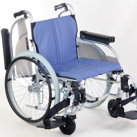 AR-500 Aluminum Folding Wheelchair for Heavy Usage