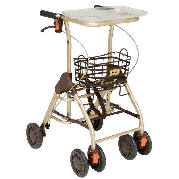 Convertible Rollator with Dining Table