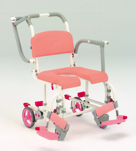 Deluxe 2-in-1 Commode Shower Chair