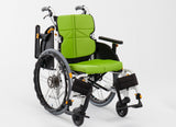 NEXTCORE Posture Correction Wheelchair with Height-Adjustable Armrest and Footrest