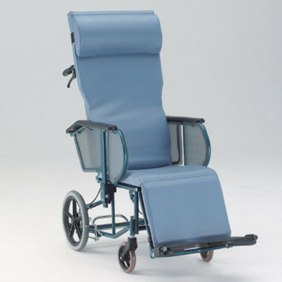 Plush Convertible Wheelchair Bed - Fully Reclining