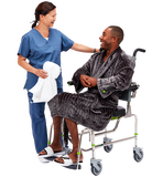 Commode Shower Chair  Compact Attendant Propelled - RAZ-AP (Z100)