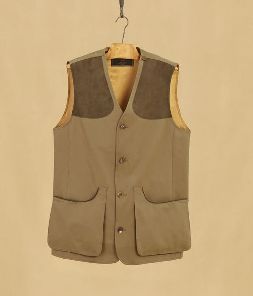 Mens Francolin Buttoned Shooting Vest