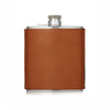 6oz Leather Hand Stitched Flask