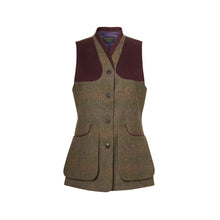 Load image into Gallery viewer, LADIES BEATRICE TWEED SHOOTING VEST