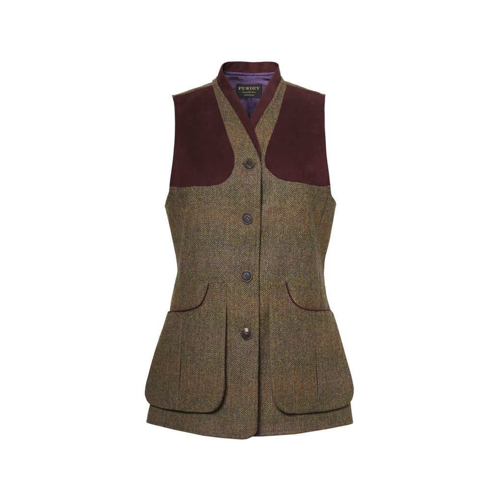 LADIES TWEED SHOOTING VEST
