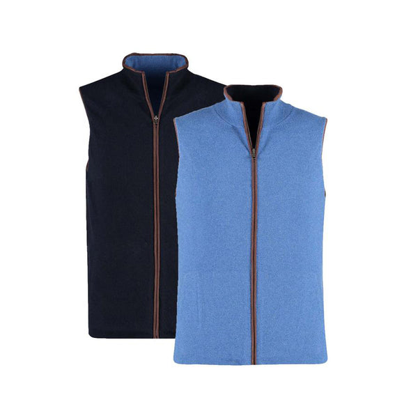 Reversible Gilet - Denim/Navy