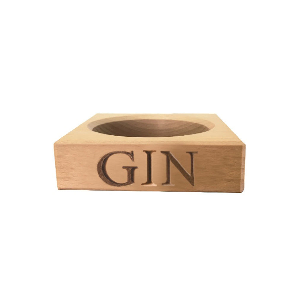 Wooden Gin Stand