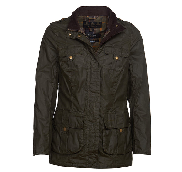 LIGHTWEIGHT DEFENCE WAXED COTTON JACKET
