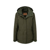 Ladies Langham Coat Dark Olive