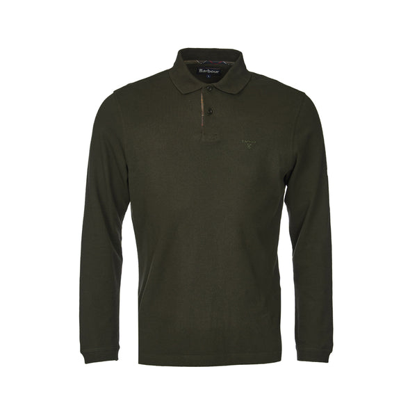 BARBOUR LONG-SLEEVED SPORTS POLO