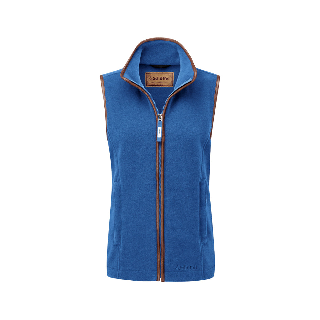 Lyndon Fleece Gilet Cobalt Blue