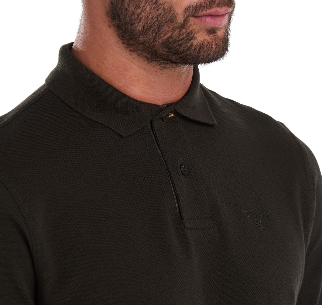 MEN'S LONG-SLEEVED SPORTS POLO