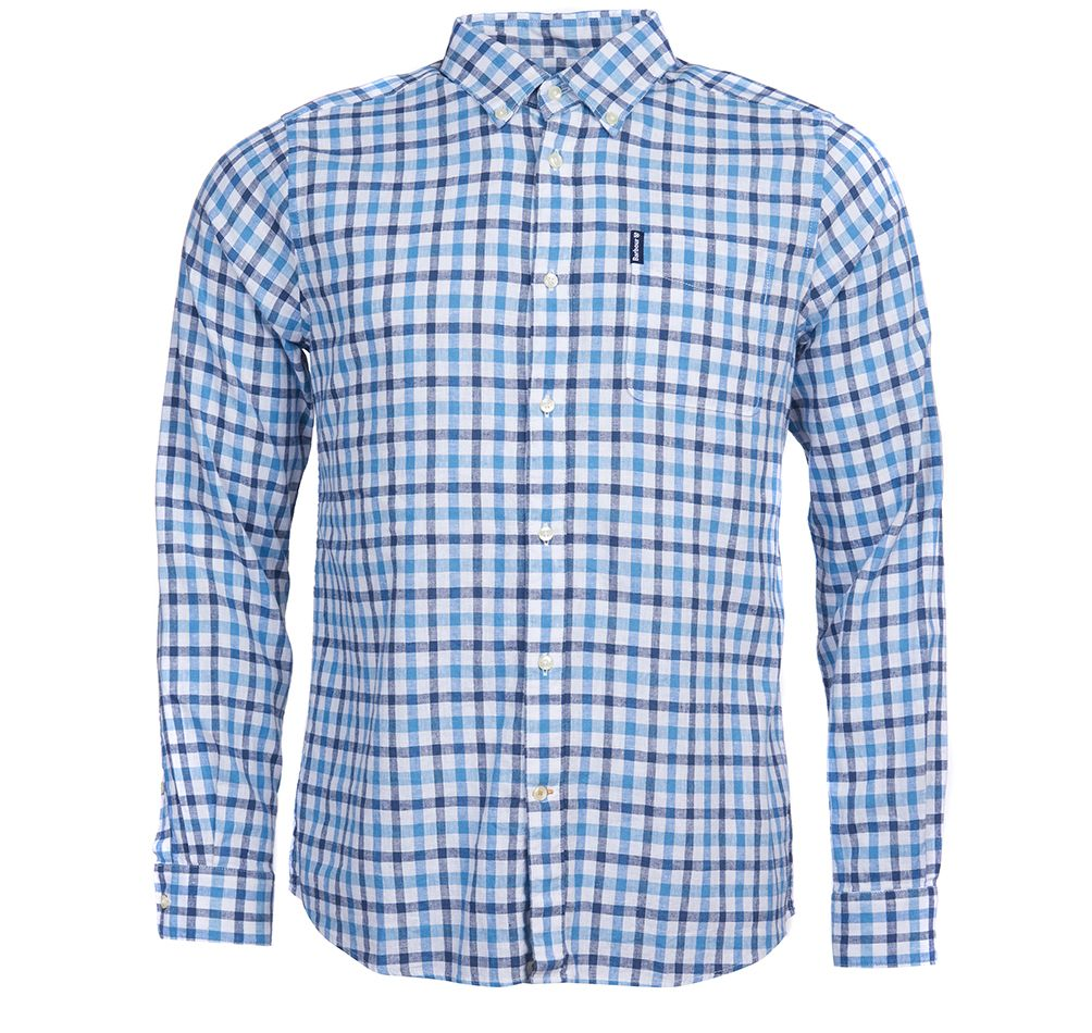 MEN'S LINEN MIX SHIRT