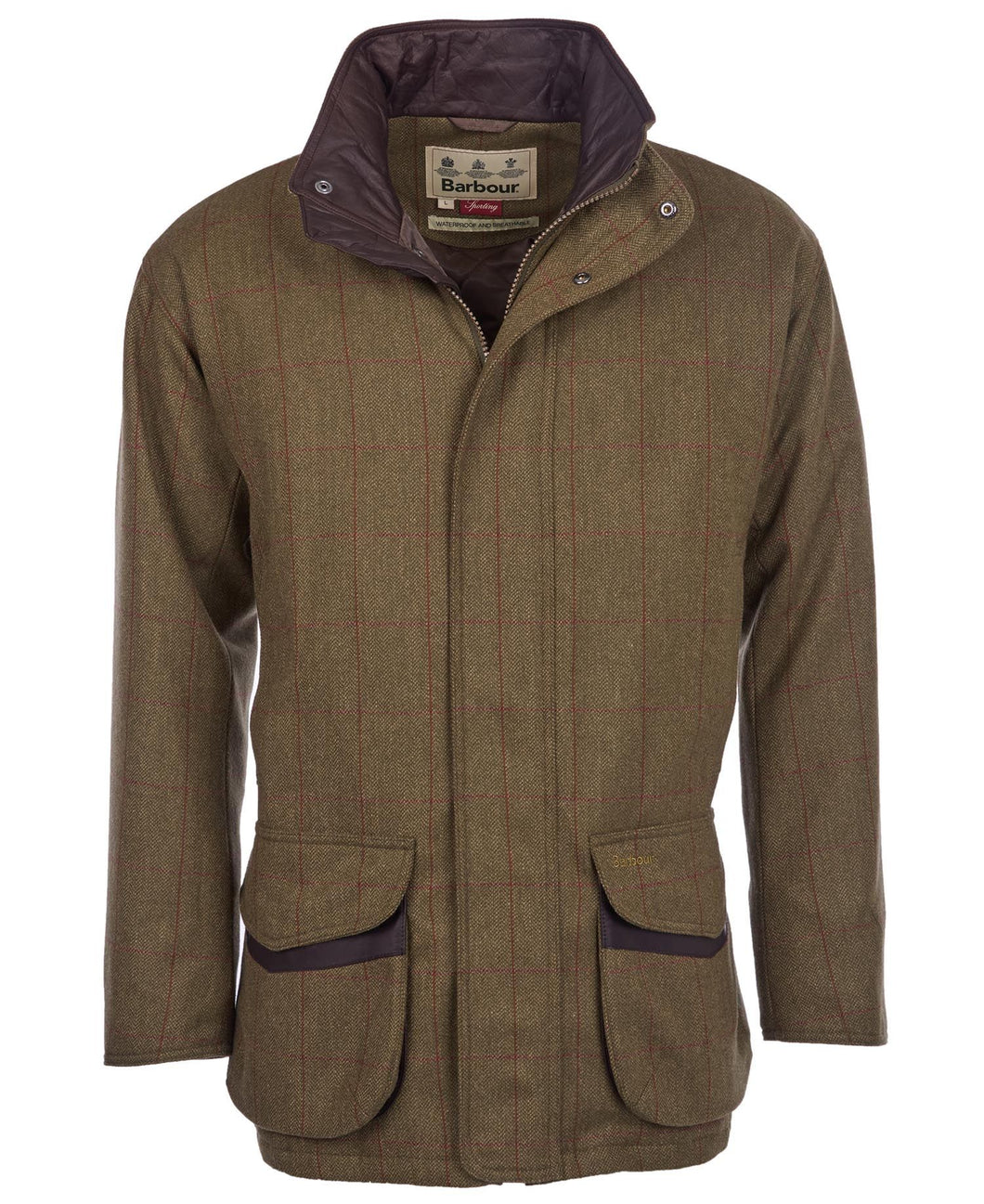 MEN'S MOORHEN TWEED COAT