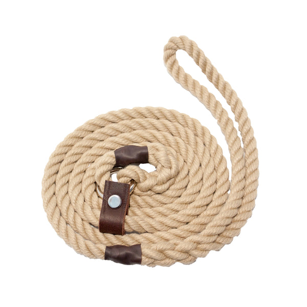 Natural Rope Slip Lead