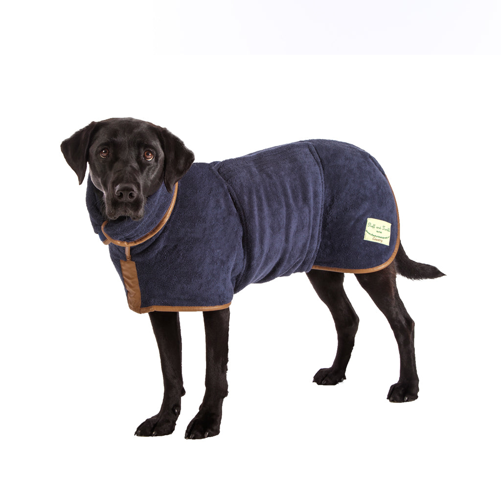 Country Drying Coat - Navy