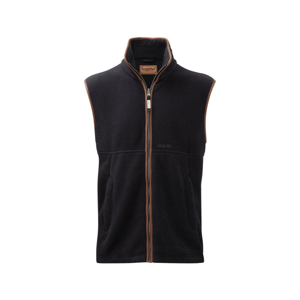 Oakham Fleece Gilet - Gunmetal