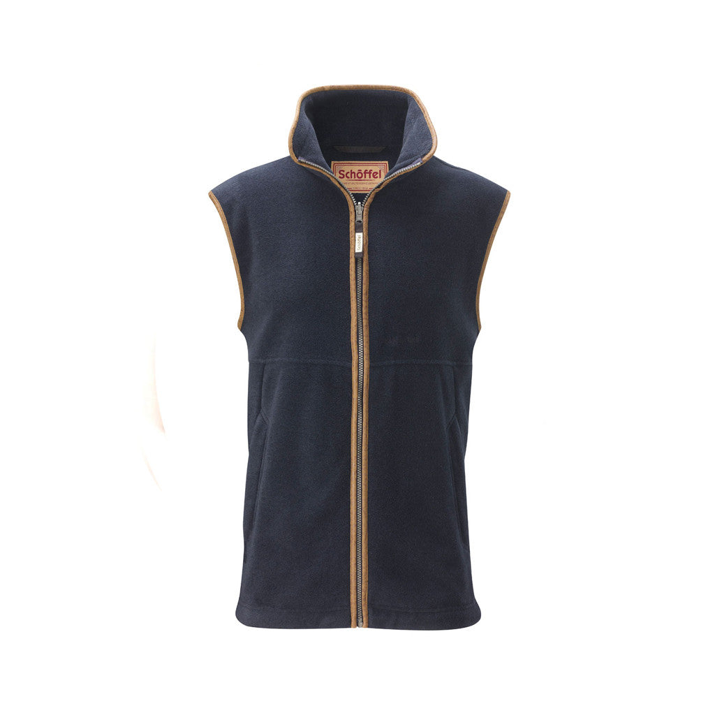 Oakham Fleece Gilet - Navy
