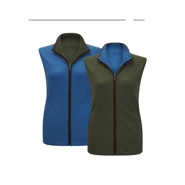 Reversible Gilet - Denim/Olive