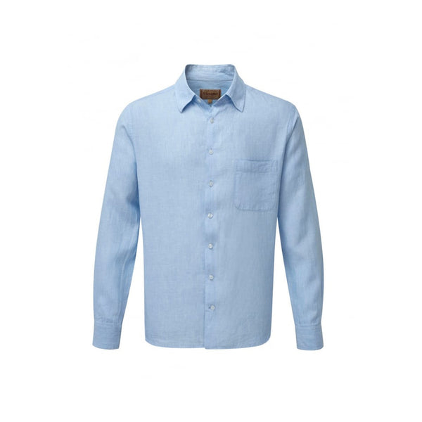 Thornham Linen Shirt Blue