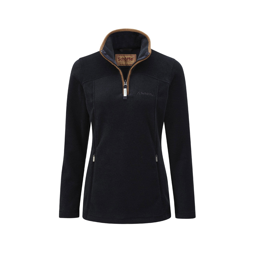 Tilton 1/4 Zip Fleece Navy