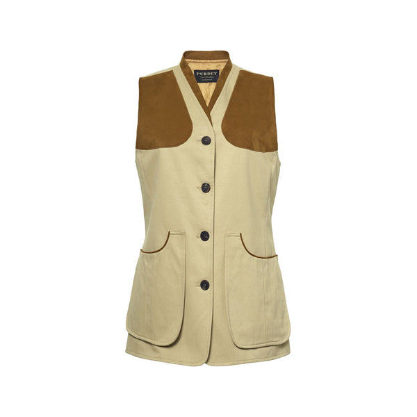 LADIES COTTON FIELD VEST