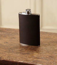 Load image into Gallery viewer, 8oz LEATHER HAND STITCHED FLASK
